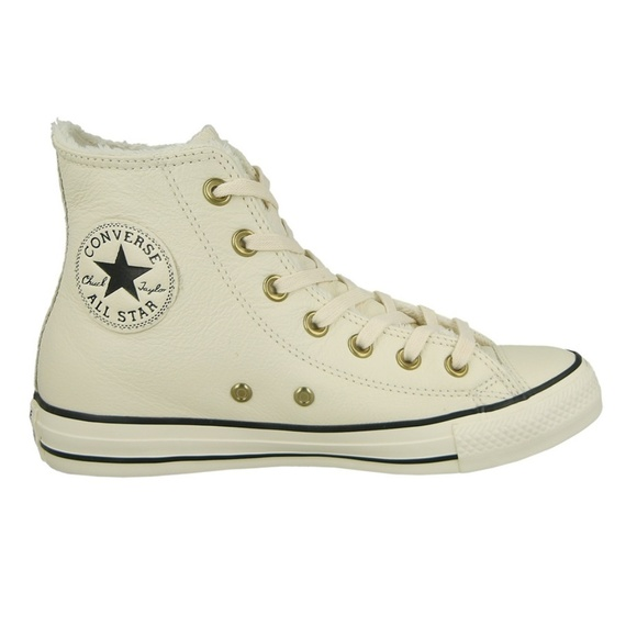 Chuck Taylor® All Star® Knit + Fur Hi Converse 0njVs